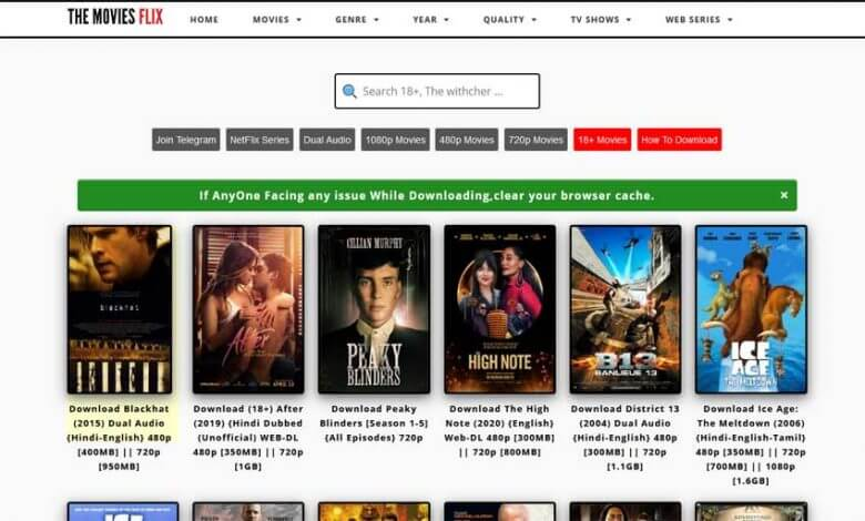 Moviesflix Illegal Hindi Movies Download Website in 2021